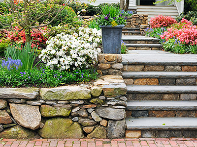 Natural Stone Steps Shakopee, MN